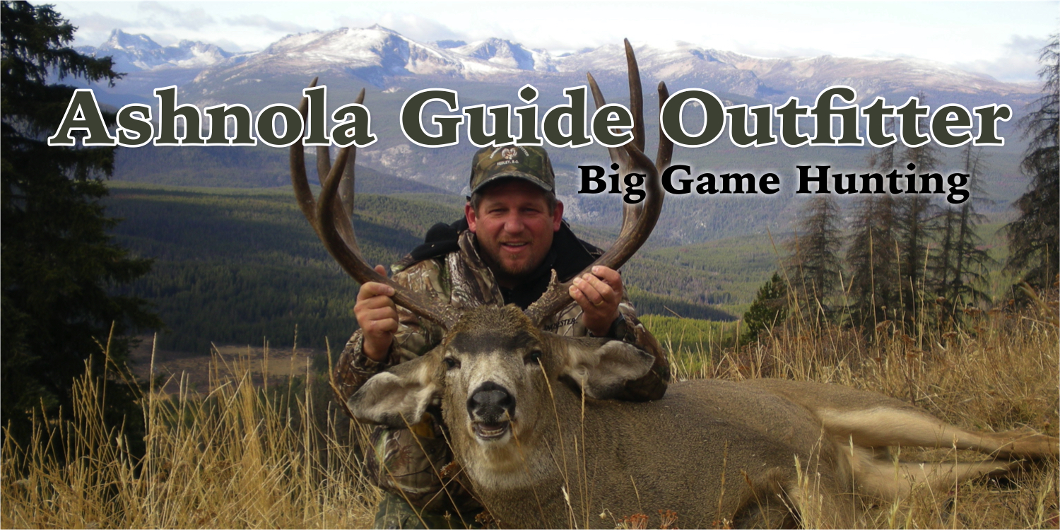 Ashnola Guide Outfitters - Big Game Hunting